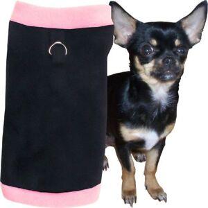 S Hundepullover Schwarz-Rosa Welpen Hunde Pulli Pullover MADE IN GERMANY
