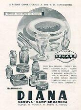 J0897 DIANA Fornitori delle tavole più... - Pubblicità grande formato - 1940 Ad