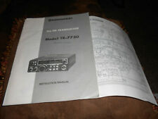 Kenwood TR 7730 Original Manual and Schematic