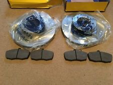 LDV CONVOY PAIR OF VENTED DISCS AND SET OF GENUINE LDV PADS WITH ABS BRAKES