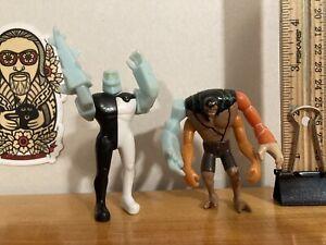 "Ben 10 Alien Force DIAMONDHEAD & KEVIN 11 3"" PVC Caketopper Figures ELEVEN - HTF"
