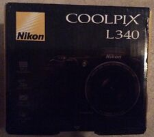 Nikon COOLPIX L340 20MP 28x optical zoom Digital Camera (Black)