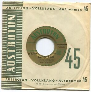 Single Kurt Edelhagen: In The Mood / Trumpet Blues (Austroton 45-A-139) A