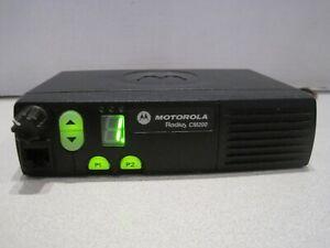 Motorola Radius CM200 Radio VHF 146-174 4CH  25W Mobile Radio AAM50KQC9AA1AN