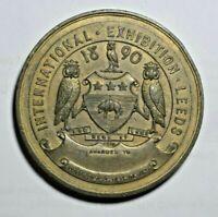 Yorkshire, Leeds, International Exhibition 1890 - award medal - not in BHM