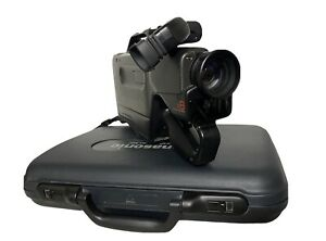 Panasonic Omnimovie PV-610D VHS Video Camcorder With Charger Vintage
