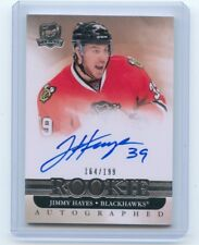 11/12 THE CUP ROOKIE RC AUTOGRAPH AUTO #99 JIMMY HAYES 164/199 BLACKHAWKS *52963