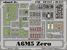 Eduard Zoom fe217 1/48 Mitsubishi A6M5 ZERO HASEGAWA