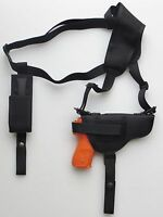 Shoulder Holster for S&W M&P 9mm,40 & 45 with Underbarrel Laser Single Mag Pouch