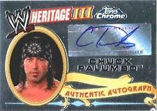WWE Chuck Palumbo Heritage III Chrome 2008 Autograph Card