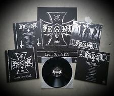 FRONT - Iron Overkill LP + Poster