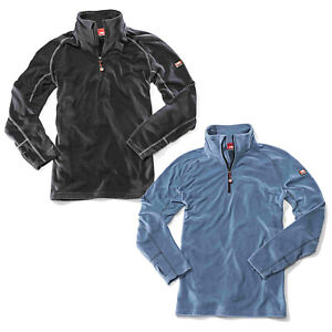 Bullstar Micro-Fleecetroyer WORXTAR Troyer Arbeitstroyer Pulli Pullover Workwear