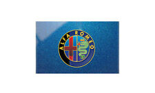 Alfa Romeo Blue Bonnet A3 12x16 Metal Sign Aluminium