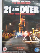 21 & Over (DVD 2013) NEW SEALED Region B PAL
