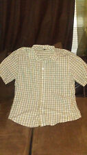 mens george button down shirt sixe 2xl