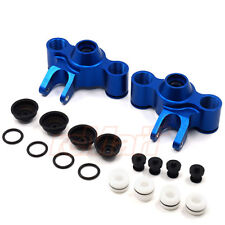 GPM Aluminum Front Rear Knuckle Arm Set Blue For Traxxas E-Maxx 2 #EMX2021-B