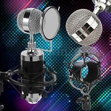 Pro Professional Sound Dynamic Mic Studio Recording Condensor Microphone 3.5mm
