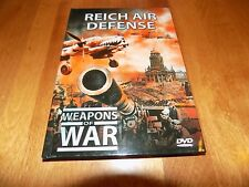 WEAPONS OF WAR REICH AIR DEFENSE Nazi Night Fighters History Planes WWII LN DVD