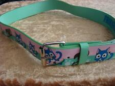"ANIME FAIRYTAIL HAPPY PINK & GREEN BELT UNISEX M/L 33""-37""NEW LAST 1 LEFT"