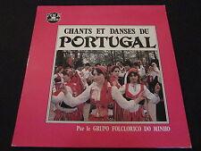 """CHANTS ET DANSES DU PORTUGAL   GRUPO FOLCLORICO DO MINHO   LP 33T 12"""""""
