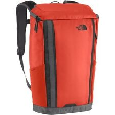 New The North Face Base Camp Kaban Charged Backpack TSA Laptop Approved Red