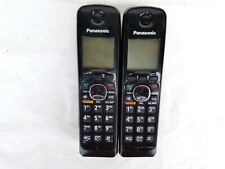 2-PANASONIC KX-TGA660B DECT 6.0  CORDLESS HANDSET FOR KX-TG6641 & KX-TGA660 ,