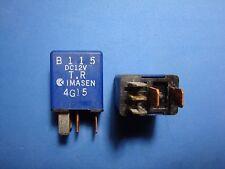 Lot of 2 Multi-purpose OEM Mazda Imasen RELAY blue 5 pin B115