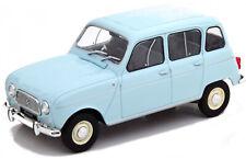 G LGB 1:24 Scale Renault 4 4L 1964 Light Blue Diecast V Detailed Model New Boxed