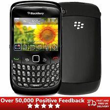 Blackberry Curve 8520 Unlocked Qwerty Keyboard Mobile Phone - Black