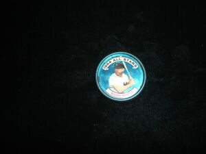 Original 1964 Topps All Stars Baseball Coin Mickey Mantle NY Yankees #131 left