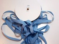Blue Seam Binding x 100 Yards, Rayon Seam Binding, Unbranded, Blue Ribbon