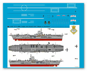 Peddinghaus 1/1250 ep 3275 Engl. Träger HMS Ark Royal