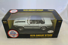 1970 Shelby GT 500 White With Black Roof 1-18 American Muscle  ERTL #36680.NOS.