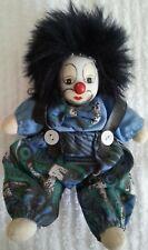 Clown Harlekin Maske Puppe Figur Porzellan Masken Dekoration