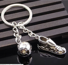 3D Sports Keychain Keyring Key Chain Ring Key Fob ball soccer foot & football