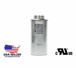 35/5 MFD uf Dual Run Capacitor 370 OR 440 VAC 50/60Hz 5% HVAC AC 35+5 µF