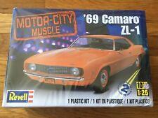 REVELL '69 Camaro ZL-1 COPO 1/25 scale model kit SEALED