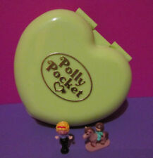 Polly Pocket Mini ♥ Polly's Pony Club Herz ♥ 100% Komplett ♥ 1989 ♥