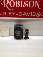 """NEW 1997 HARLEY-DAVIDSON LITTLE CRUISERS """"Following In Moms Footsteps"""" FIGURINE"""