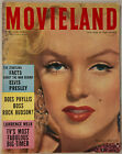 Vintage April 1957 Movieland Magazine Sexy Marilyn Monroe Cover & Inside Story