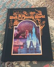 Vintage 1986 Walt Disney World Hard Back Collector Book Mickey Mouse Epcot