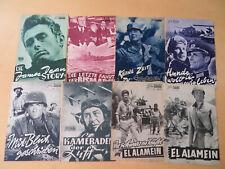 Sammlung 220 Stk. Neues Filmprogramm ca.1959-1963 + James Dean +