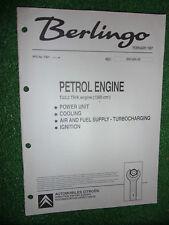 CITROEN TU3.2 1360cc PETROL ENGINE FACTORY SOLEX MANUAL BERLINGO Appl' 1997>