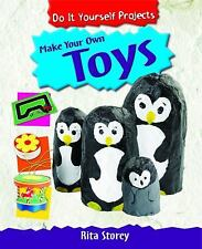 Make Your Own Toys (Do It Yourself Projects!)-ExLibrary