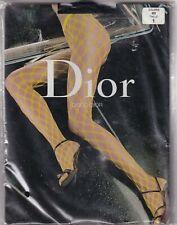 Collant résille DIOR DISCO coloris Noir. Taille 1 - 8½. Tights.