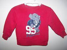Garanimals boys Red  Warm SweatShirt size 18 Months 95 JUGGERNAUTS ELEPHANT 18 m