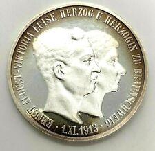5 Mark 1915 Dt. Reich Ernst August, Victoria Luise 999er Silber 2001
