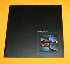 Cadillac Seville STS SLS 1999 Prospekt Brochure Catalog Depliant Folder