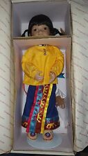 Georgetown Collection Golden Flower Native Indian Doll By Carol Theroux with box