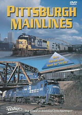 Pittsburgh Mainlines DVD Pentrex Iron City Conrail Norfolk Southern CSX NS NEW